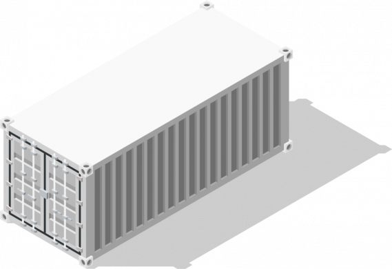 Container dry
